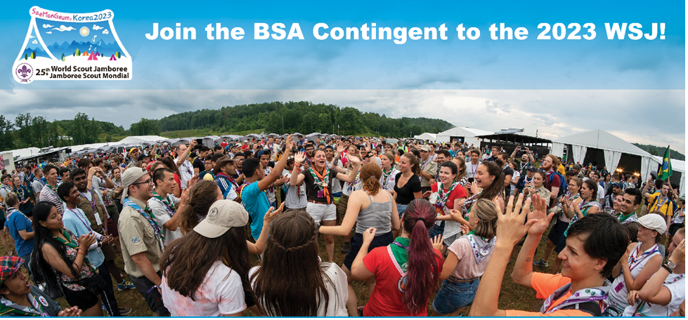 Three Ways to be a Part of the USA Contingent to the 25th World Scout Jamboree
